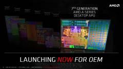 Hivatalosak az asztali PC-s AMD Bristol Ridge központi egységek kép