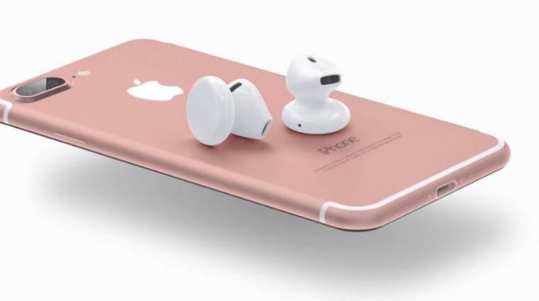 Vezeték nélküli fülhallgatóval készül az Apple kép