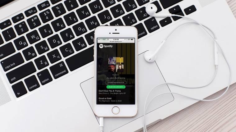 40 millió fizetős felhasználónál tart a Spotify kép