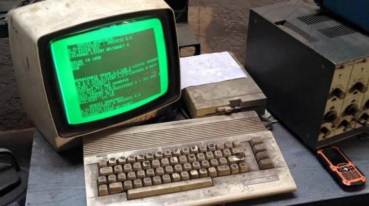 Bő 25 éve működik az elpusztíthatatlan Commodore 64 kép