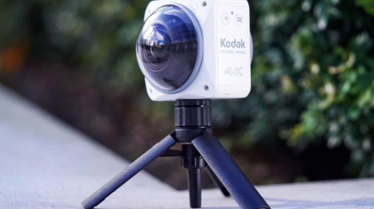 360 fokban rögzít a Kodak 4K-s akciókamerája kép
