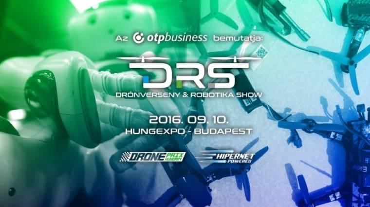 """A """"legek"""" kiállítása: Drónverseny & Robotika Show kép"""