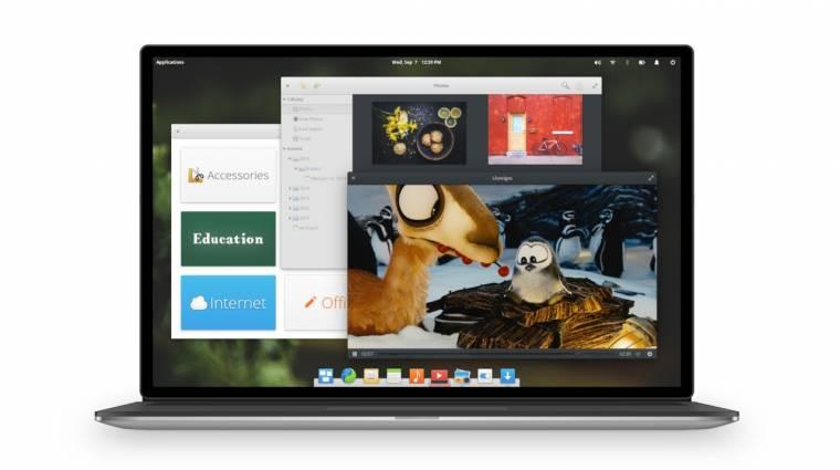 Elkészült az Elementary OS 0.4 kép