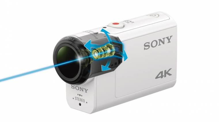 Optikai képstabilizálással dolgozik a Sony 4K-s akciókamerája kép