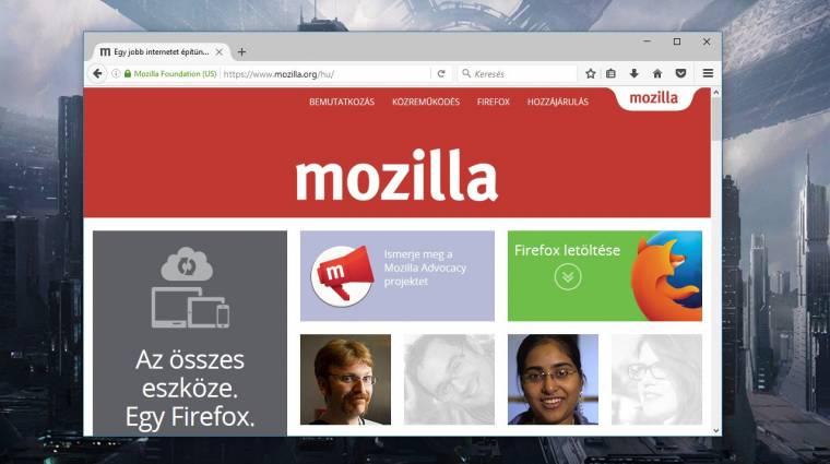 Megérkezett a Mozilla Firefox 49 kép