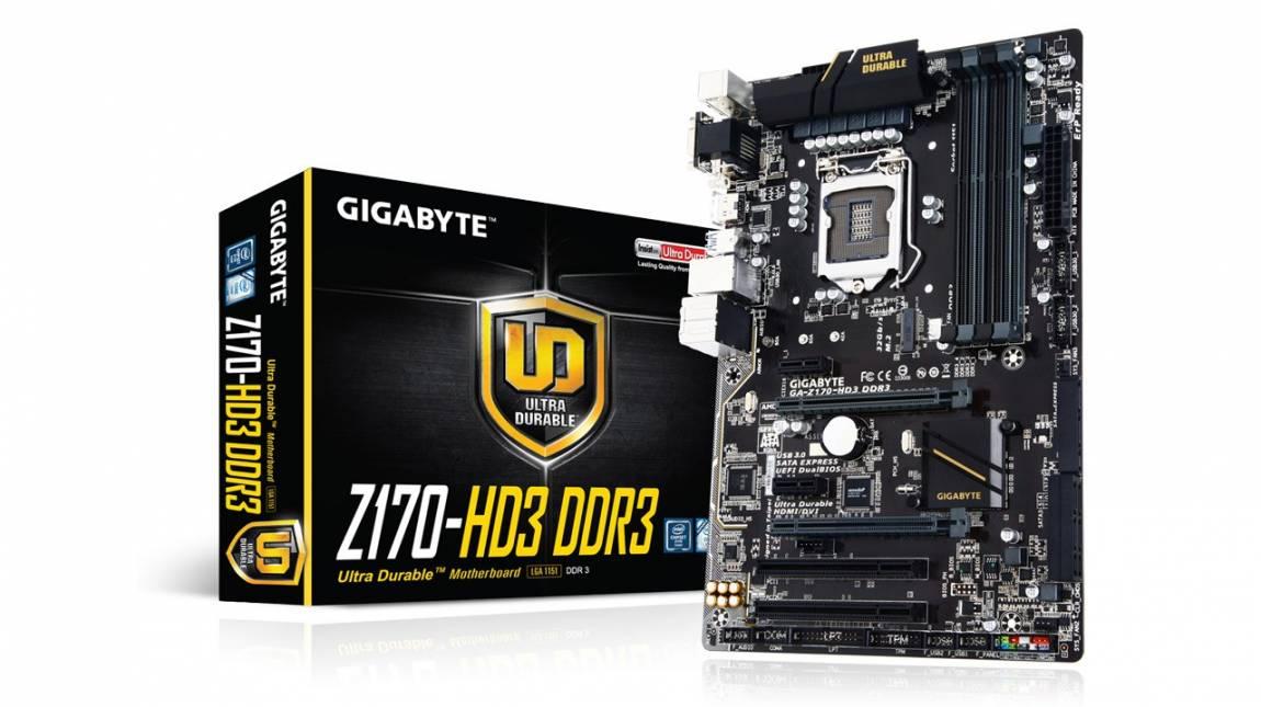 TESZT: Gigabyte Z170-HD3 DDR3 - Modern múltidézés kép