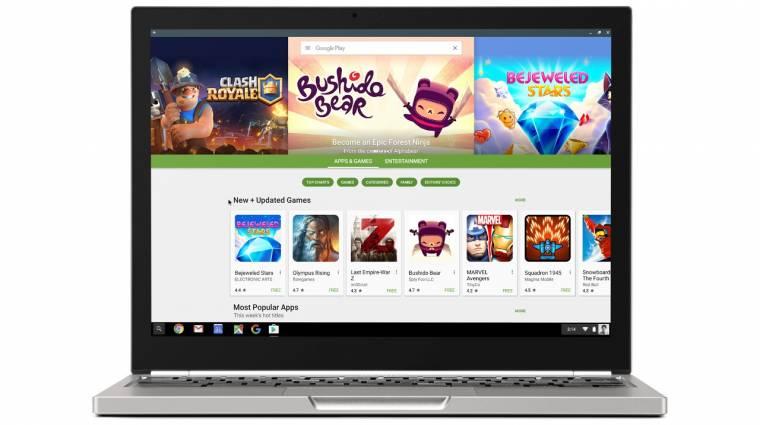 Már két Chromebookon is futtathatóak Android appok kép