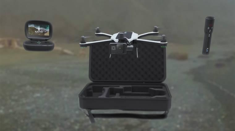 Összecsukható a GoPro Karma quadrocopter kép