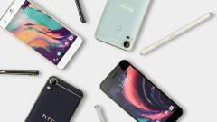 A középkategóriában újítottak az HTC Desire 10 készülékek kép