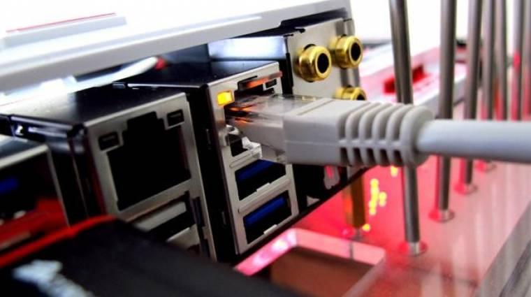 Itt a Killer E2500 Ethernet-kontroller kép