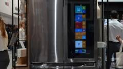 Windows 10 fut az LG hűtőszekrényén kép
