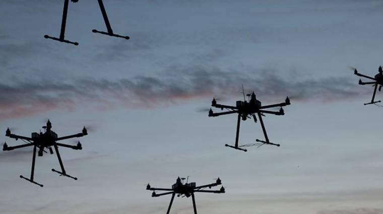 Tele lesz az ég drónokkal kép