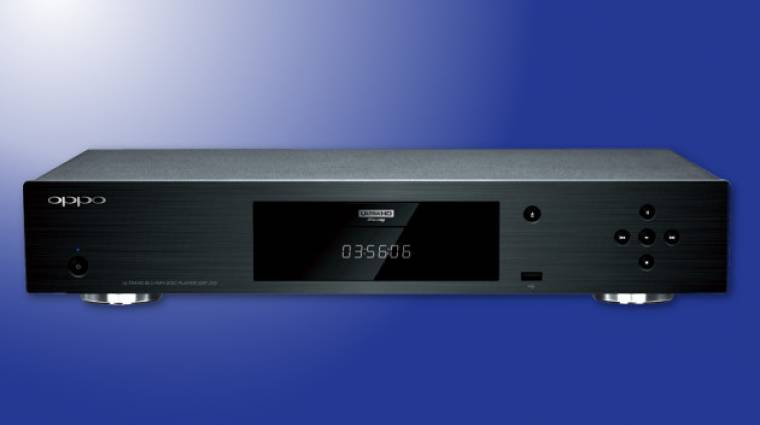 Ultra HD-s Blu-ray-lejátszón dolgozik az Oppo kép