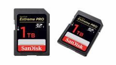1 TB adatot képes tárolni a Sandisk SDXC kártyája kép