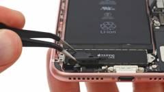 Apple iPhone 7: ez van a jackcsatlakozó helyén kép