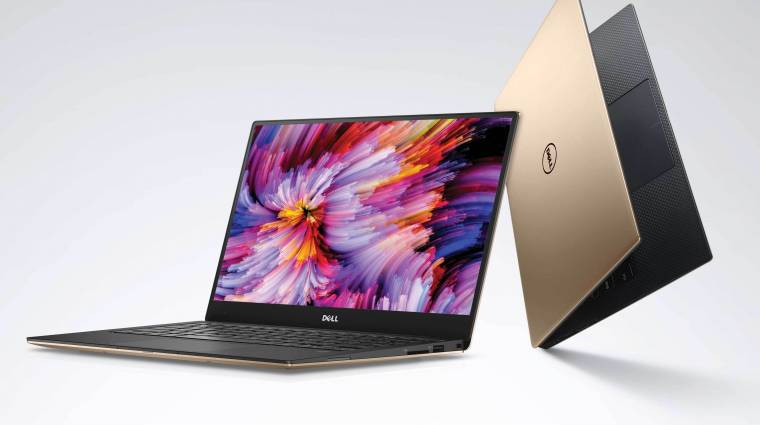 Új Intel lapkákkal és rozé arany színnel frissít a Dell XPS 13 kép