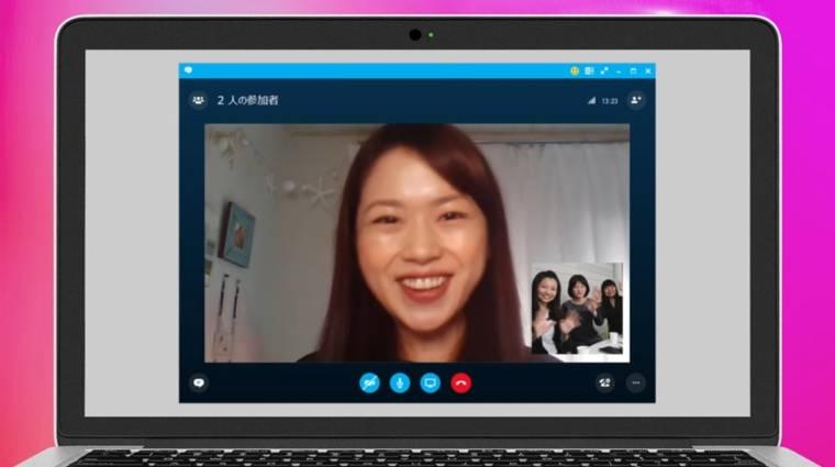 Virtuális smink a Skype-beszélgetésekhez kép