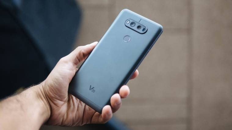 Nagy bukás a G5, a V20-tól várja a sikert az LG kép