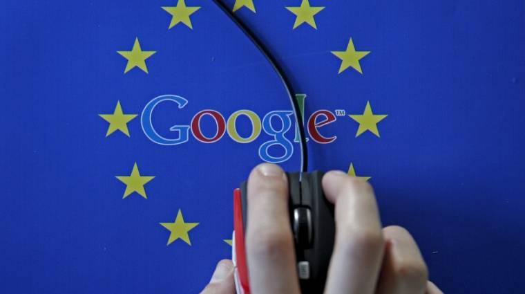 Kattintásszám alapján büntetné az EU a Google-t kép