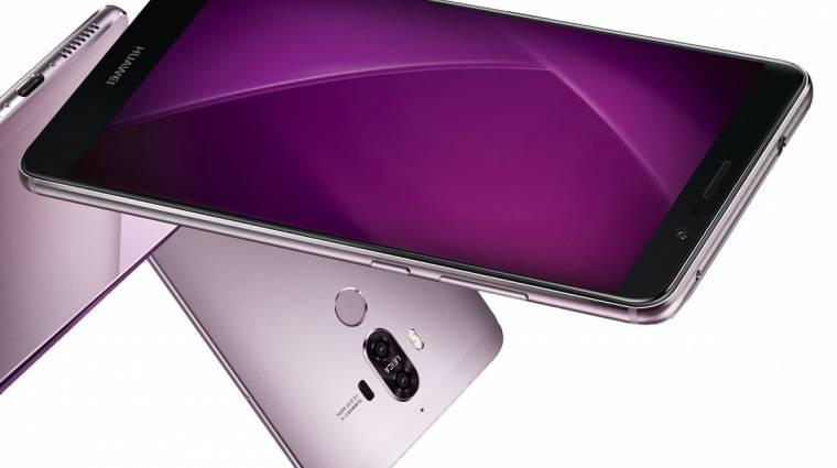 Négyszeres optikai zoomot tudhat a Huawei Mate 9 kép