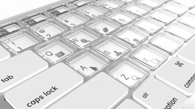Elektronikus tintával újíthatnak a MacBookok billentyűzetei kép