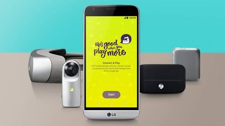Nem lesz moduláris az LG G6? kép