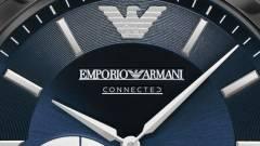 Az Armani is kínál már hibrid órát kép