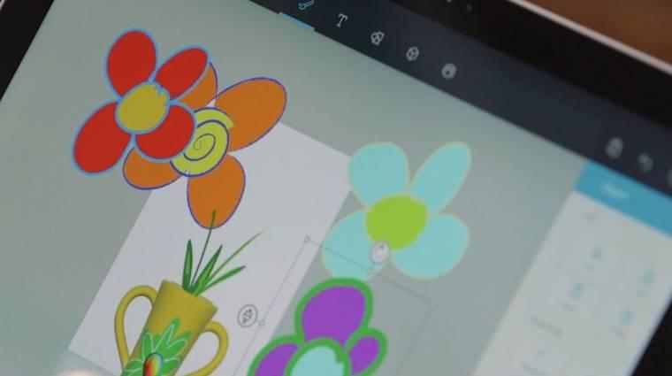 3D-vel újít Windows 10-en a Paint kép