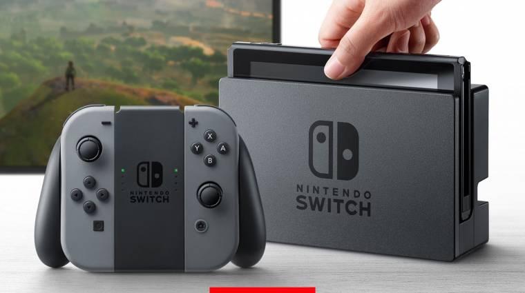 Nem játszik le bármit a Nintendo Switch kép