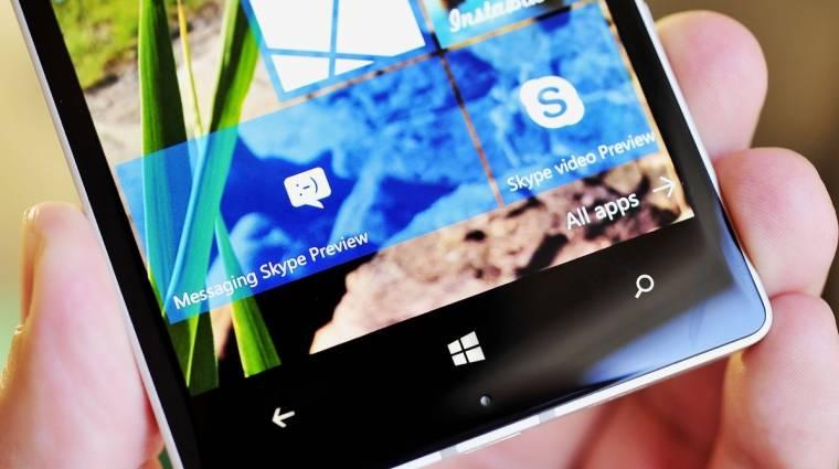 Búcsúznak a Skype-tól a windowsos okostelefonok kép