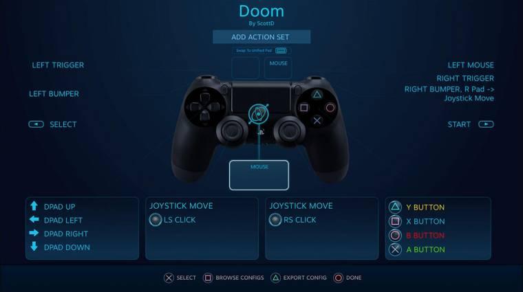 Támogatni fogja a PS4 gamepadjét a Steam kép