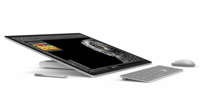 Lenyűgöző a Microsoft Surface Studio egybegép kép