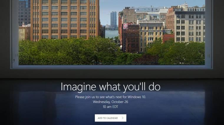 Hamarosan fény derülhet a Windows 10 újdonságaira kép