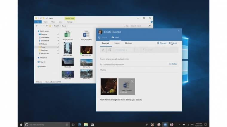 Hivatalos a Windows 10 Creators Update! kép