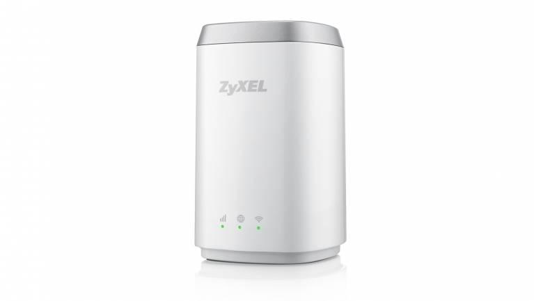 ZyXEL LTE4506-M606 - WiFi a szabadban fókuszban