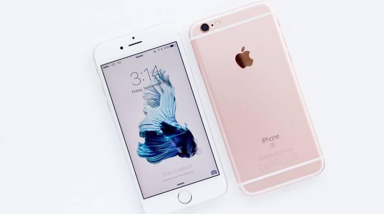 Akkut cserél az Apple, ha kikapcsol az iPhone 6S készüléked kép