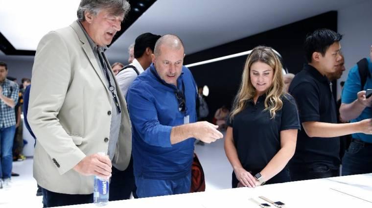 Az iPhone 8-at már nem Jony Ive alakítja kép