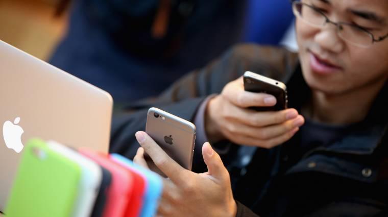 Tönkre mennek az iPhone-ok Kínában kép