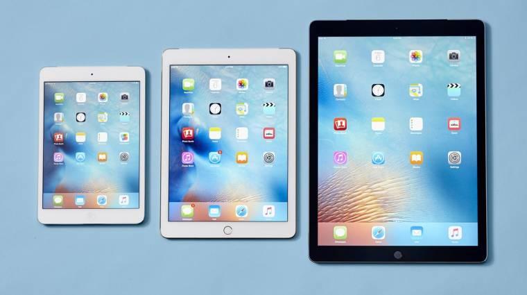 Közelít a 10,5 hüvelykes iPad kép