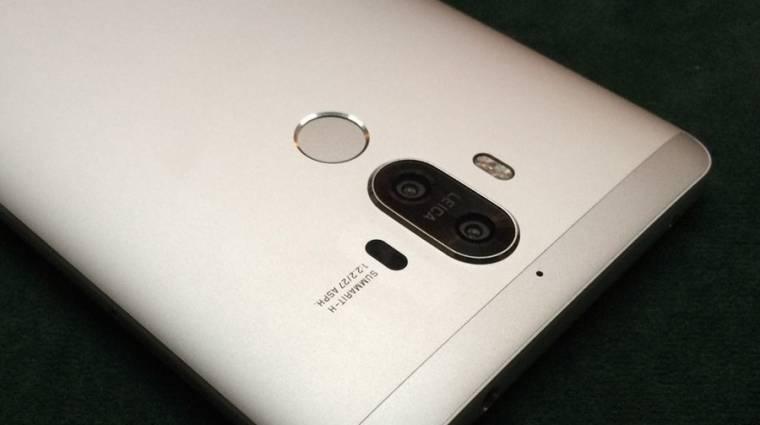 Kiszivárgott a Huawei Mate 9 kép