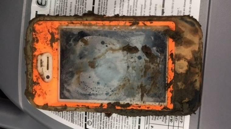 Ez az iPhone egy tó alján is túlélt egy évet kép