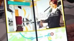 Összecsukható okostelefonhoz csinált kijelzőt a Japan Display kép