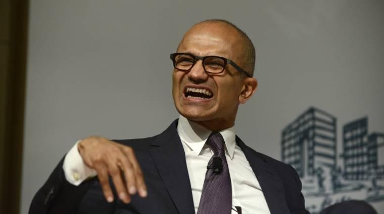 A Microsoft kinevette az Apple-t kép