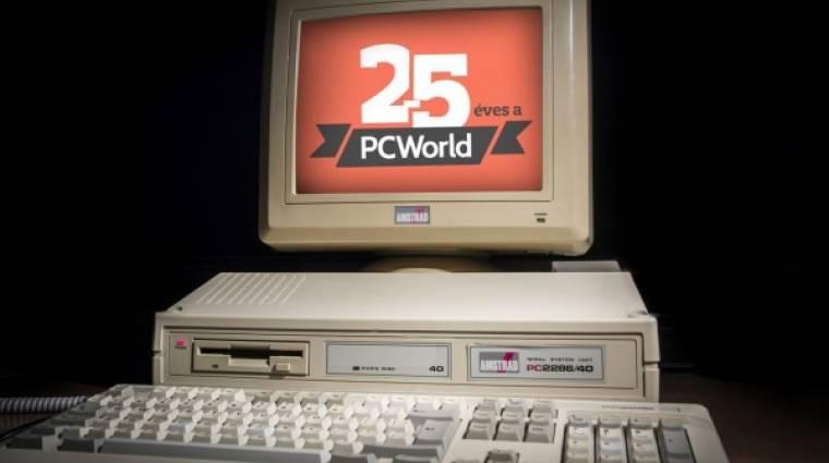 25 éves a PC World magazin kép