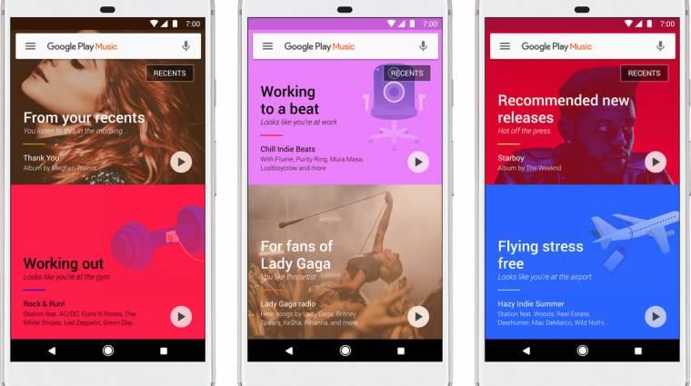 Kitalálja a Google Play Zene, hogy mit szeretünk kép