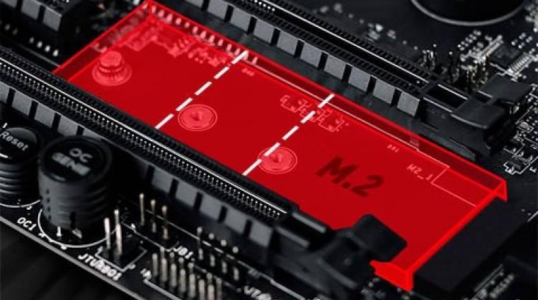 SSD-hűtéssel újítanak a következő MSI alaplapok kép