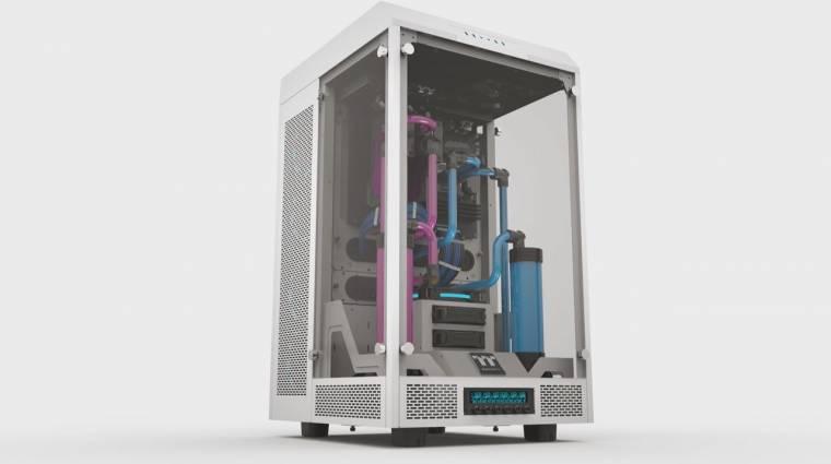 Számítógépszekrény a Thermaltake jóvoltából kép