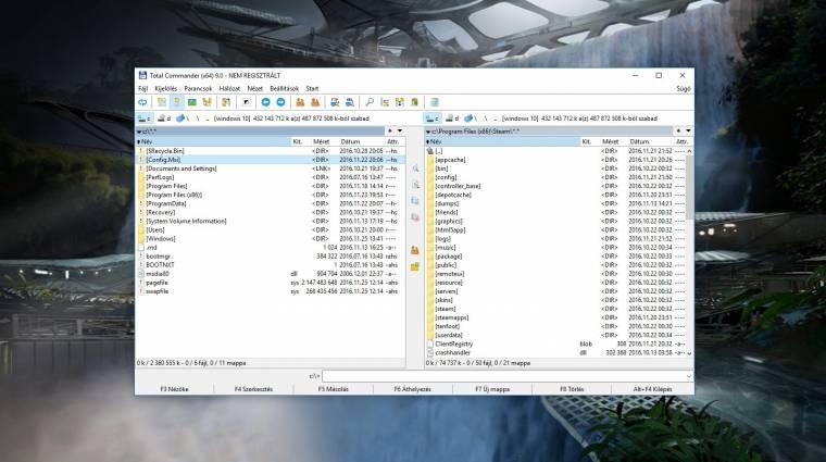 Elkészült a Total Commander 9.0 kép