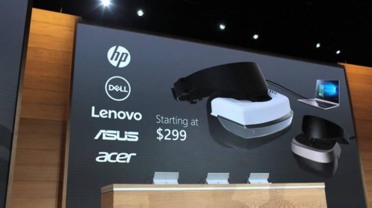 Visszafogott gépigénye lesz a Windows 10-es VR-headseteknek kép
