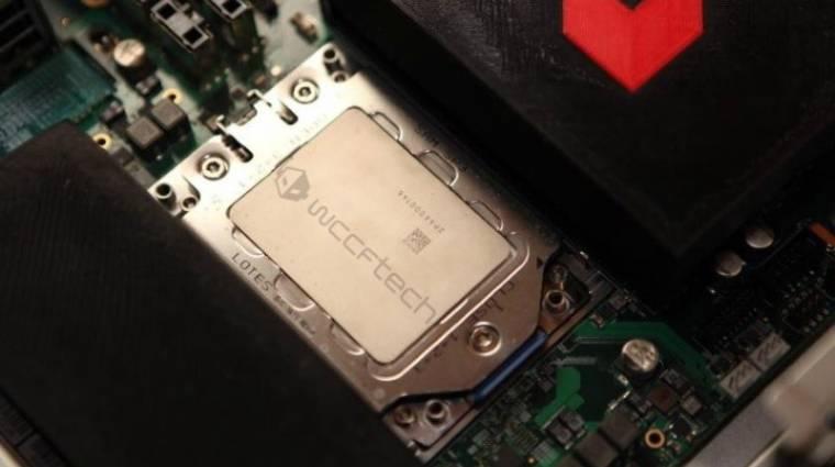 Fotón a 16 magos AMD Naples processzor kép